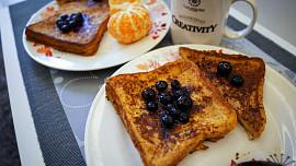 Slavný francouzský toast získal název omylem, nebo podvodem. I tak chutná fantasticky!