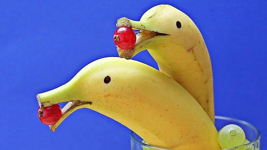 Zčernalé banány se dají zachránit. Můžete s nimi kouzlit nebo z nich připravit sladké překvapení