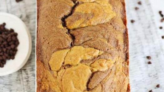 Čokoládovo-dýňový chlebíček