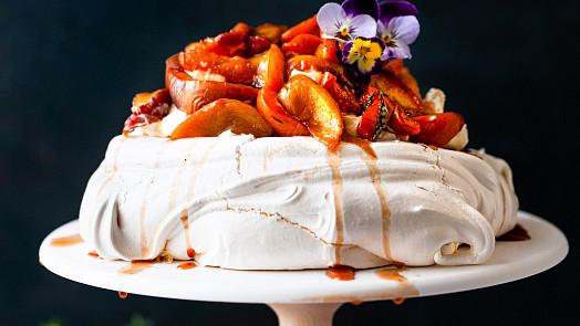 Nadýchaný jako obláček: Podobu slavného dortu Pavlova údajně inspirovala ruská baletka