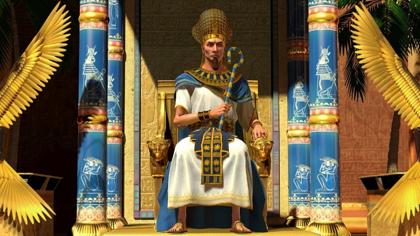 Zdroj: commons.wikimedia, Dorindavidaurel, CC-BY-SA-3.0, https://commons.wikimedia.org/wiki/Category:Ancient_Egypt_in_art#/media/File:Tumoses_I_,faronul_anti_Yahweh.jpg