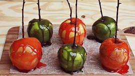 Halloweenská pochoutka: Sladká jablka!