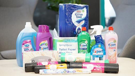 Tesco uvádí svoji první řadu výrobků ve 100% recyklovatelných obalech
