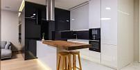 Minimalistická kuchyně není jen o designu,prim udávají i nenápadné spotřebiče