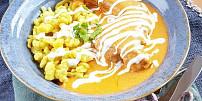 Oběd na neděli: Kuře na paprice se zakysanou smetanou amaďarskými nočky vás nadchne!