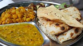 Nejlepší chlebové placky jsou ty zIndie: Vyzkoušejte roti, naan, papadam a parathu