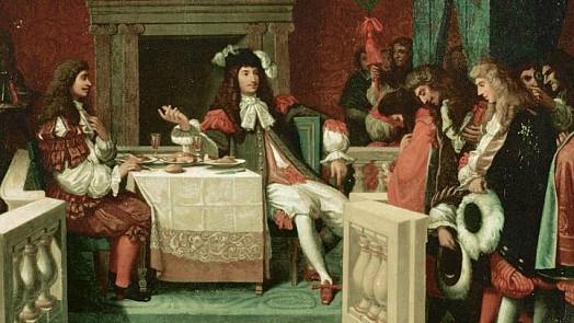 Stůl Krále Slunce zdobily kila masa. Jak se jedlo ve Versailles a co platilo za největší pochoutku?