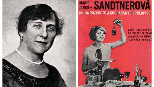 Slavná kuchařka Marie-Janků Sandtnerová učila hospodyňky vařit skromně i nápaditě