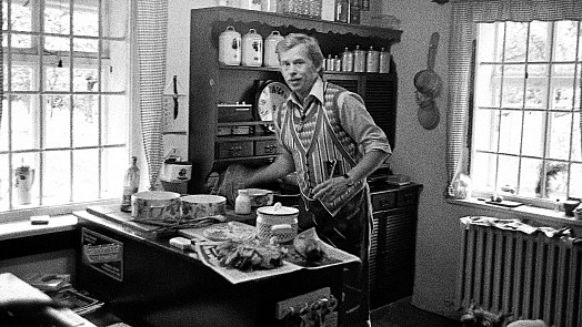 Kančí na daňčím, bramborové placky i lečo. Jaká jídla miloval Václav Havel?