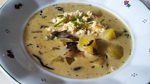 Nejlepší houbové polévky? Uvařte si staročeské kyselo, kulajdu nebo hladkou Ančku!