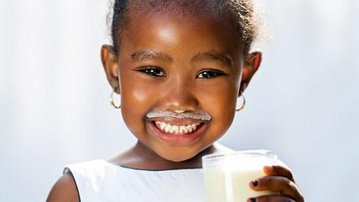 Sklenice mléka denně!