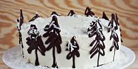 Úchvatný čokoládový dort s kávou a podmáslím pro zimní atmosféru!