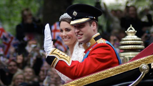 Princ William a vévodkyně Kate jsou svoji 10 let! Co se jedlo na jejich svatbě?