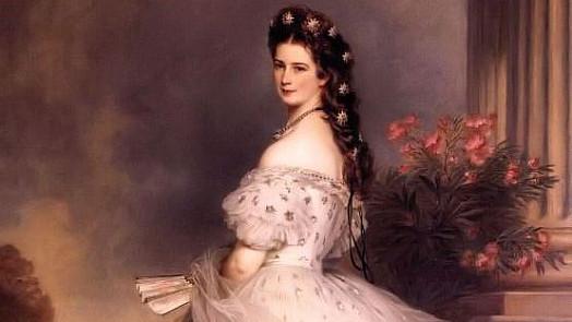 Krásná Sissi byla první anorektičkou. Císařovna i týdny konzumovala jen lehký vývar nebo mléko