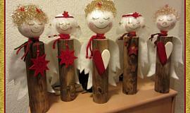 vánoční andělé