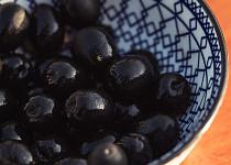 Olivy černé bez pecky