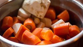 Pestrá paleta barev podzimní kořenové zeleniny