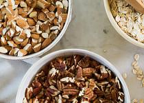 Ořechy nastrouhané