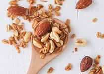 Ořechy sekané