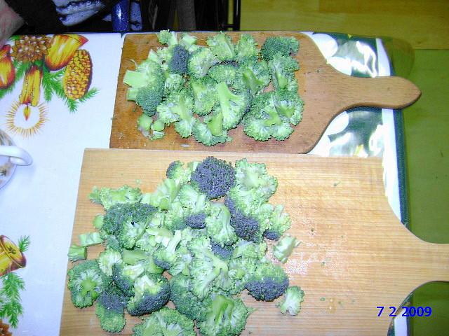 Přichystaná brokolice