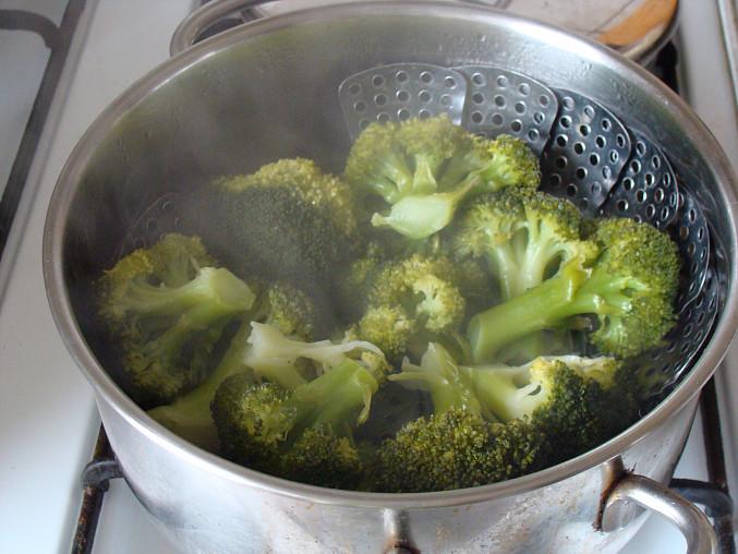 Brokoli v páře