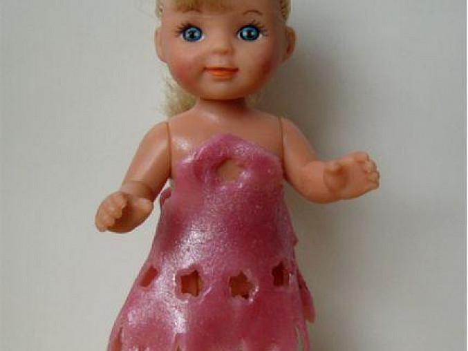 panenka v marcipánových šatičkách :o))
