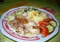 Hovězí řízky s rýži