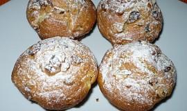 Jablečné muffiny s ořechy