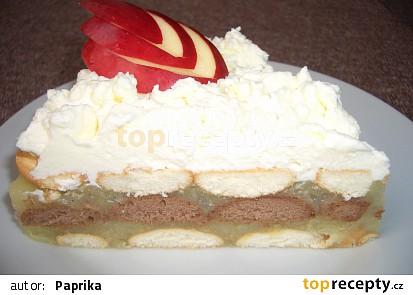 Jablečný dort - nepečený