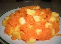 Mrkvovo-ananasový salát