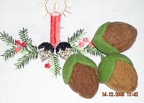 Plněné ořechy - těsto bez ořechů