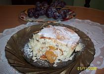 Rýžový nákyp s tvarohem a jablky