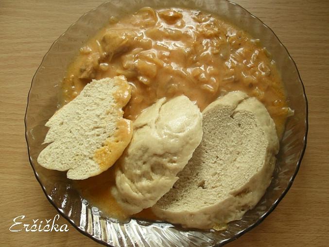 knedla je experiment z chlebovej muky ;o)
