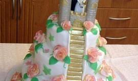 Svatební dortík pro  super  holčinu :o)