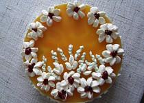 Tvarohový dort - nepečený