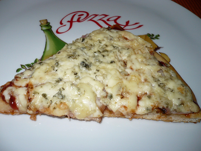 Vynikající pizza