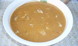 Dršťková polévka z vepřových žaludků