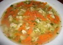 Kuřecí polévka s masovými nočky
