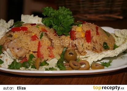 Kuskus s kuřecími kousky a zeleninou