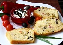 Olivový chlebíček