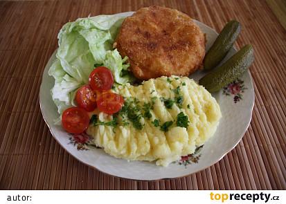 Smažený celer s nivou
