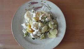 Smetanové brambory s brokolicí