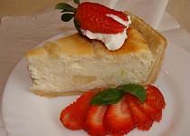 Tvarohový koláč s citrónem