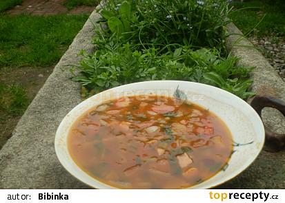Červená polévka