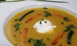 Krémová polévka z brambor, cukety a mrkve