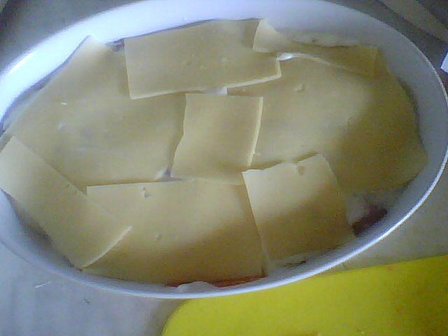 pokladené sýrem