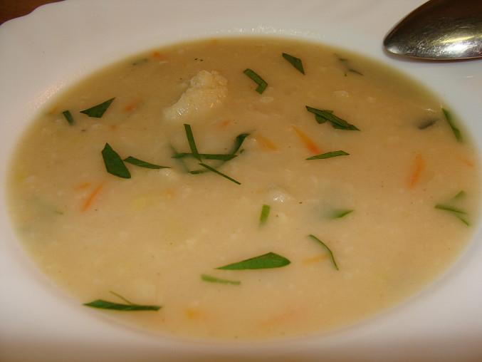 Květáková polévka, Květáková polévka