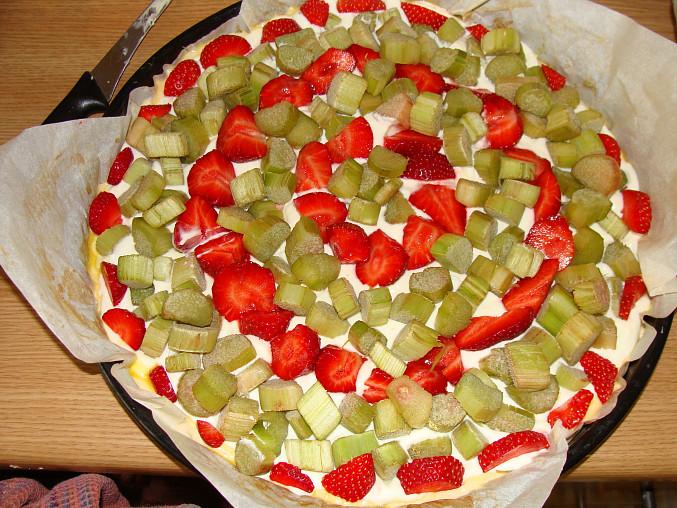 Pokladené ovocem