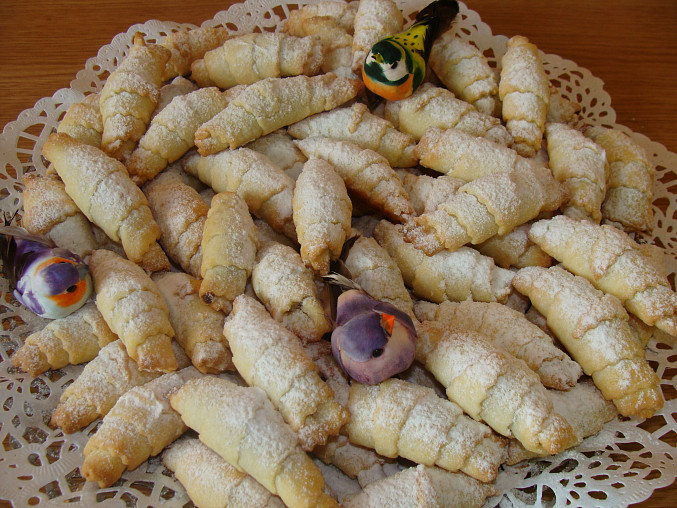 Marmeládové rohlíčky