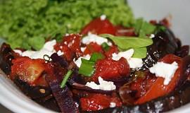 Melanzane con pomodoro - lilek v rajčatech
